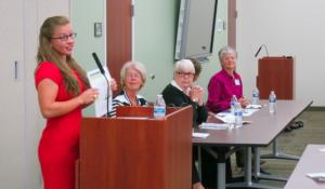 Panel Discussing Women's Economic Sustainability